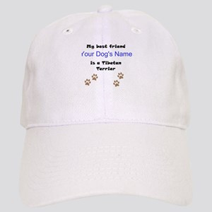 Custom Tibetan Terrier Best Friend Baseball Cap